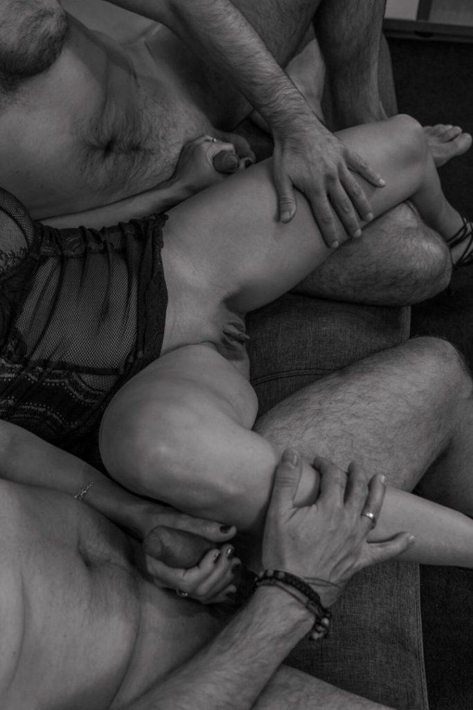 Animuszowo erotyczna sesja par
